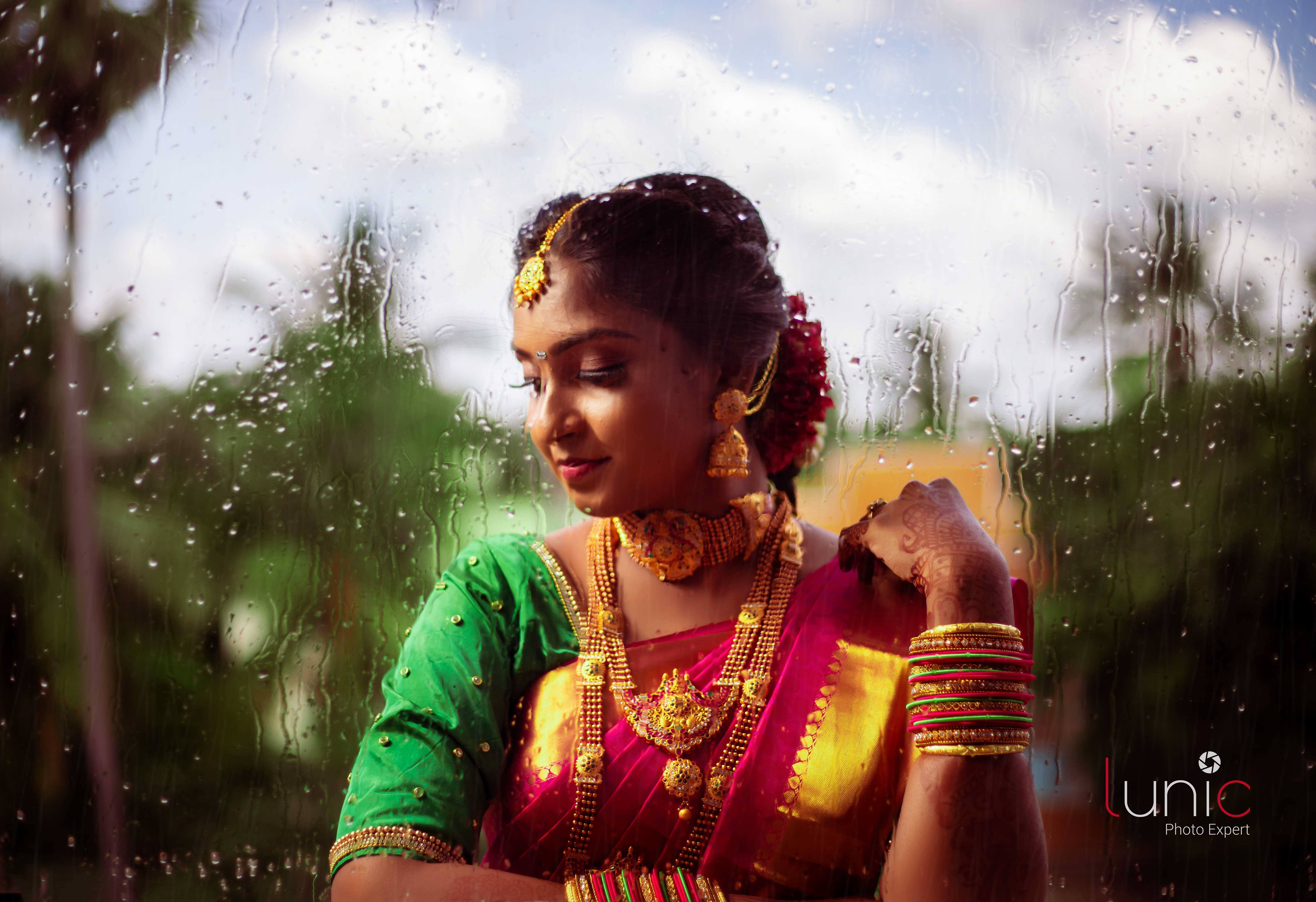 traditional bride shot