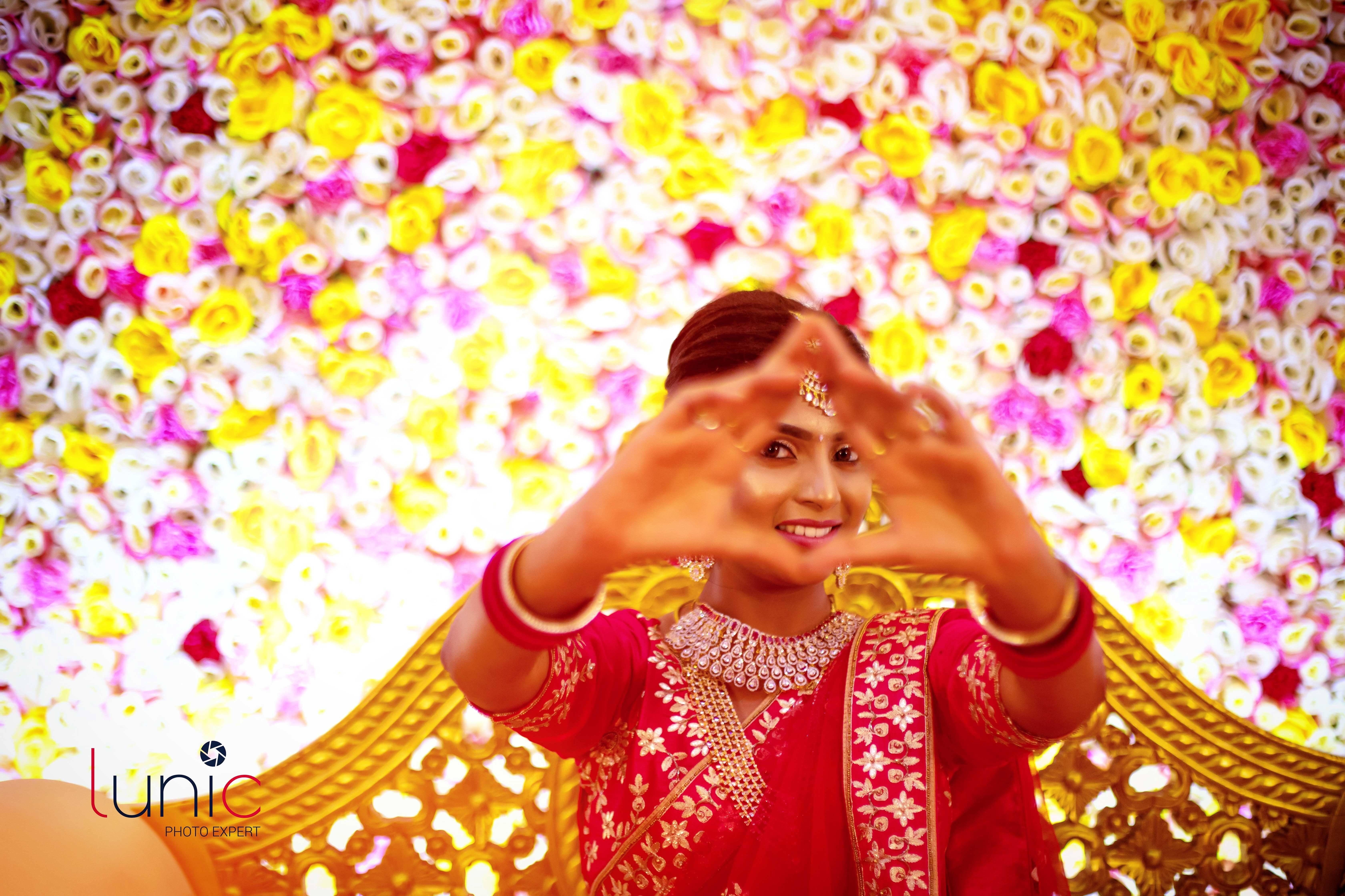 Photo of bridal mehendi look images