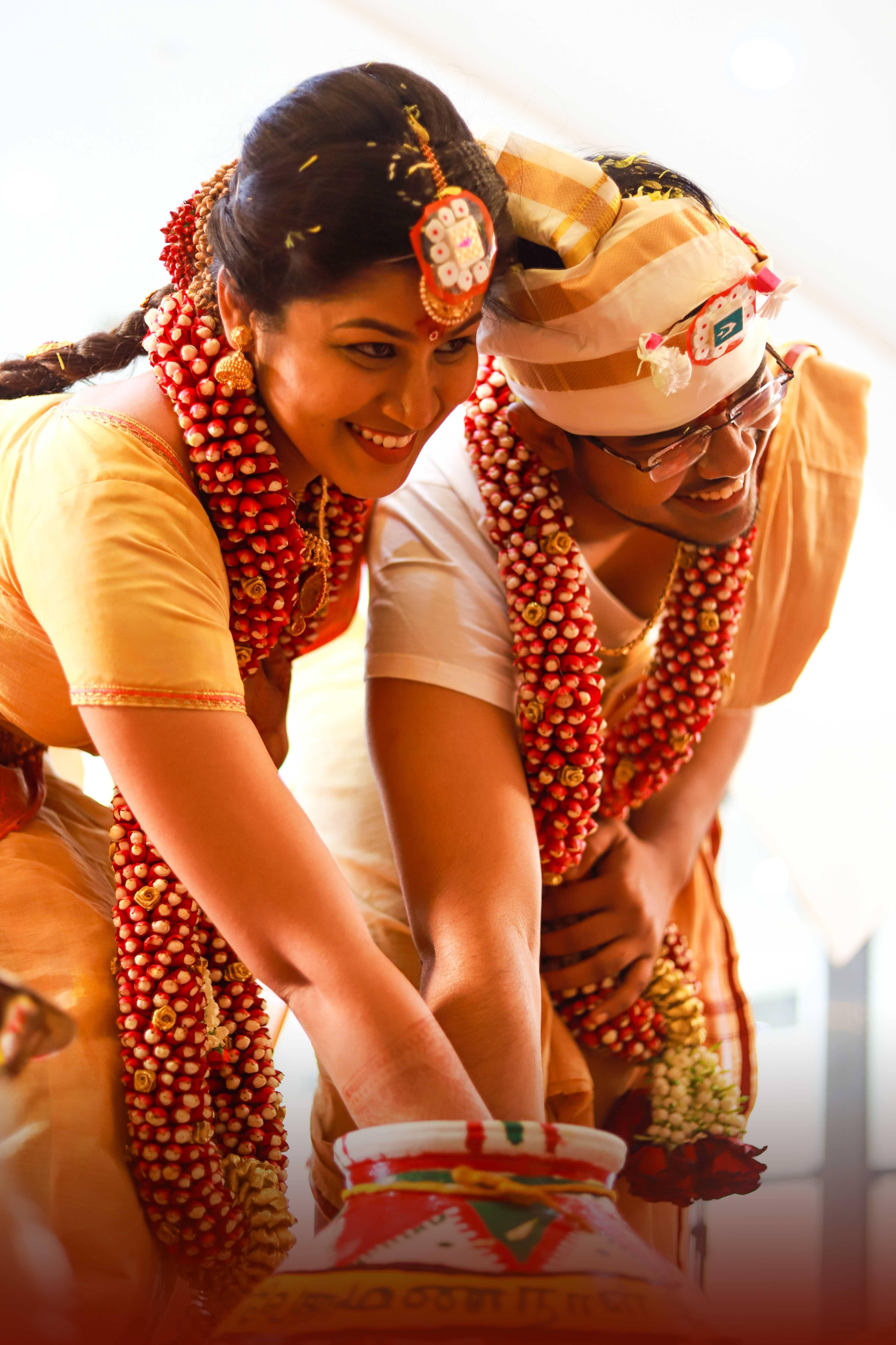 Couple Wedding Ceremony
